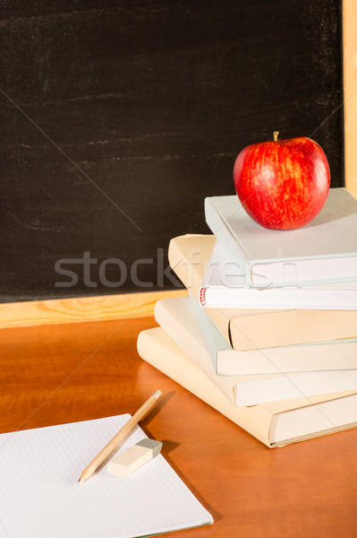 Traditional academic education pile of books Stock photo © CandyboxPhoto
