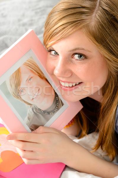 Foto amore sorridere ritratto Foto d'archivio © CandyboxPhoto