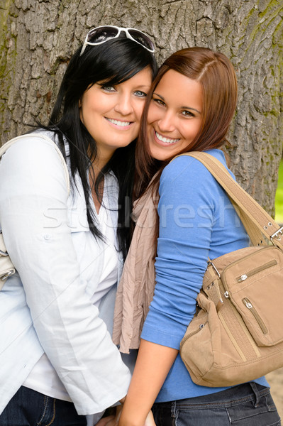 Mother and daughter spending time together park Stock photo © CandyboxPhoto