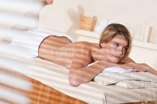 Spa - Young woman at wellness massage treatment  Stock photo © CandyboxPhoto