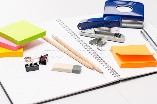 Office supplies Stock photo © CandyboxPhoto