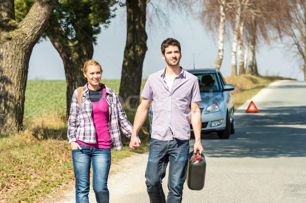 из газ пару необходимость бензин автомобилей Сток-фото © CandyboxPhoto