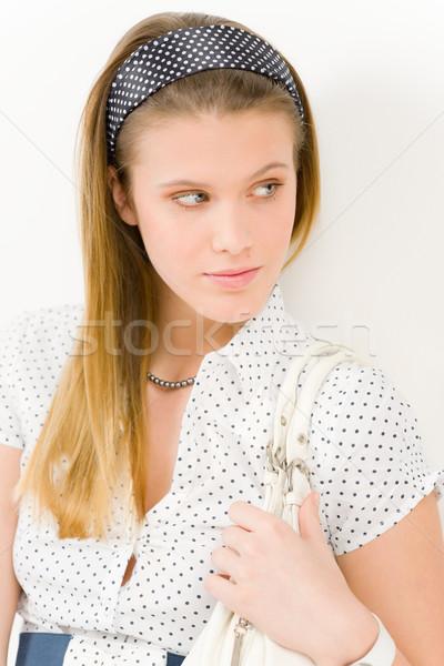 ストックフォト: ファッション · モデル · 女性 · 着用 · 夏 · デザイナー