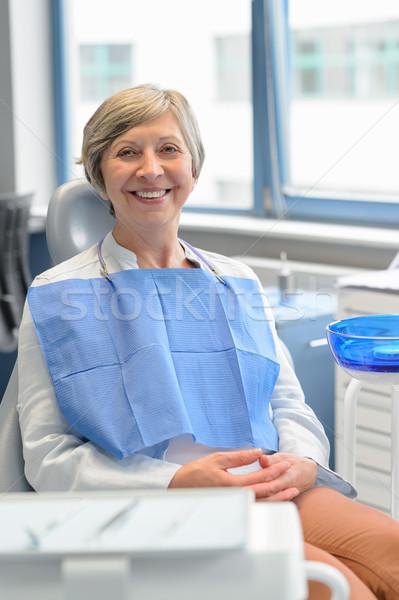 Paciente cirurgia dentária sessão cadeira dentes Foto stock © CandyboxPhoto