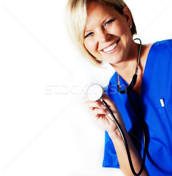 Nurse Stock photo © cardmaverick2