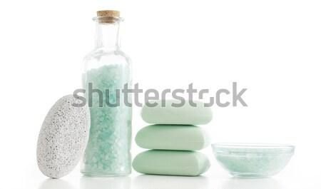 Spa display bagno prodotti sfondo bellezza Foto d'archivio © cardmaverick2