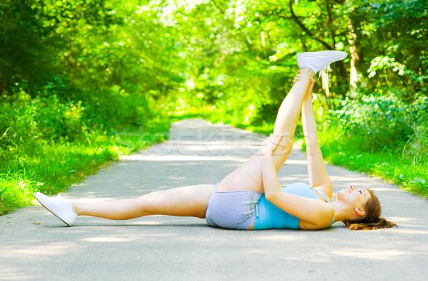 Foto stock: Aire · libre · entrenamiento · fotos