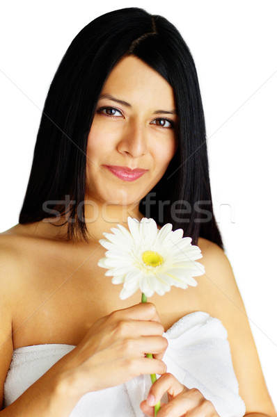 Beautiful Spa Woman Stock photo © cardmaverick2