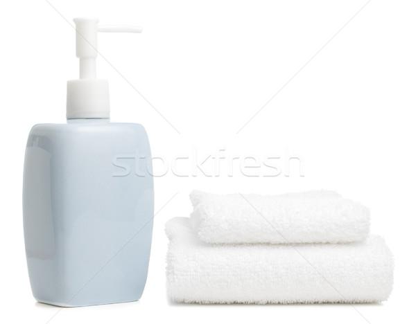 Spa display heldere witte huis ontspannen Stockfoto © cardmaverick2