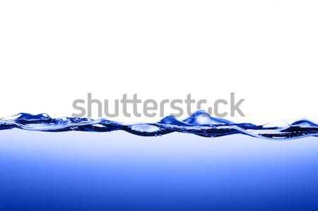 Azul agua blanco fondo verano espacio Foto stock © cardmaverick2