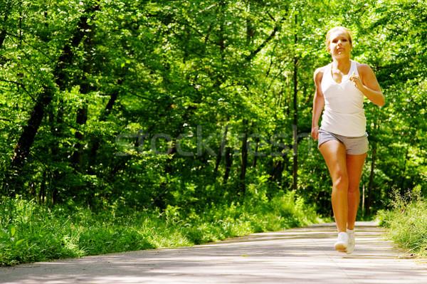 Forestales camino deporte naturaleza Foto stock © cardmaverick2