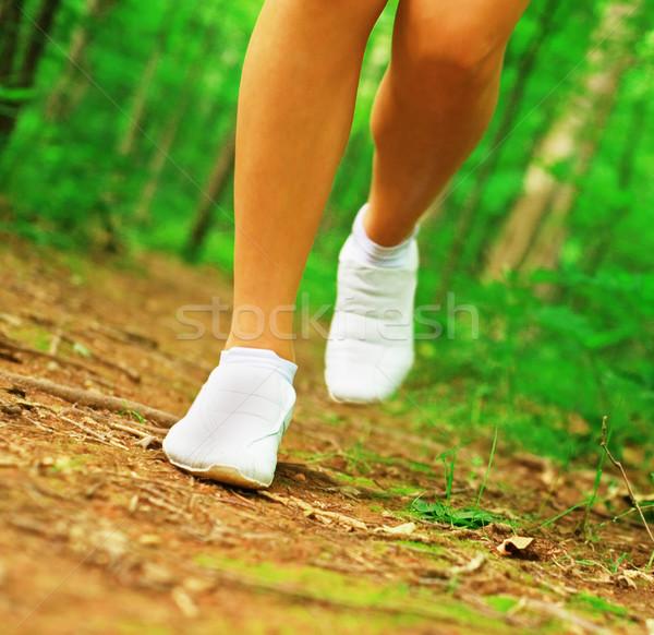 Corredor piernas mujer Foto stock © cardmaverick2