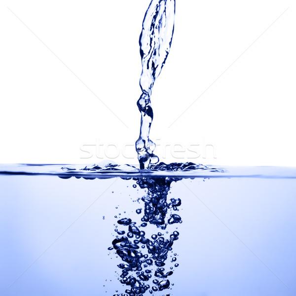 Agua resumen verano azul bano Foto stock © cardmaverick2