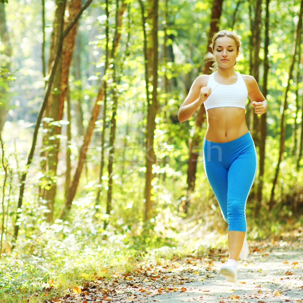 Stock photo: Pretty Young Runner