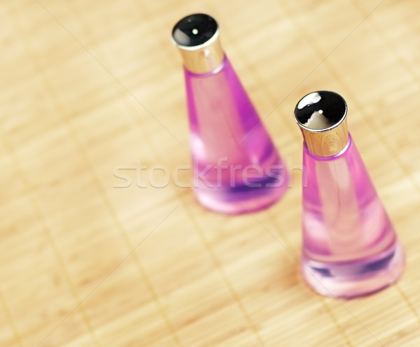 Foto stock: Spa · pantalla · bambú · belleza · bano · limpio