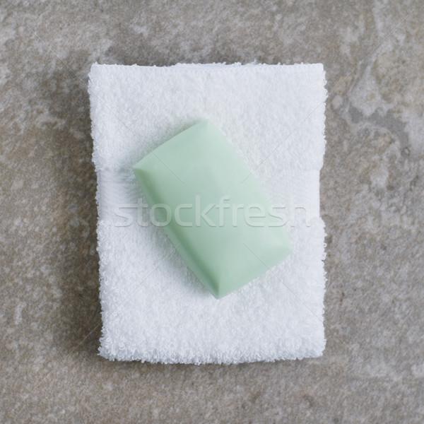 Spa pantalla superior granito piedra casa Foto stock © cardmaverick2