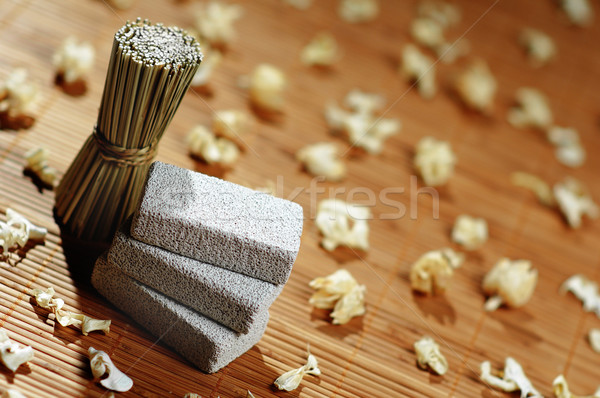 Stock photo: Spa Display