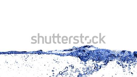 Water Surface with Bubbles Stock photo © cardmaverick2