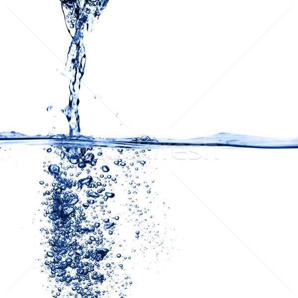 Azul agua resumen verano blanco limpio Foto stock © cardmaverick2