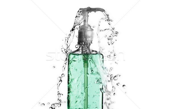 Green Bottle Splash Stock photo © cardmaverick2