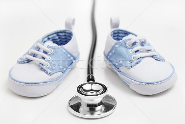 Kindergeneeskunde gezondheid ziekenhuis jongen leven Stockfoto © cardmaverick2