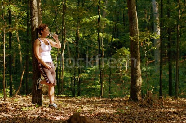 Resting Runner Stock photo © cardmaverick2
