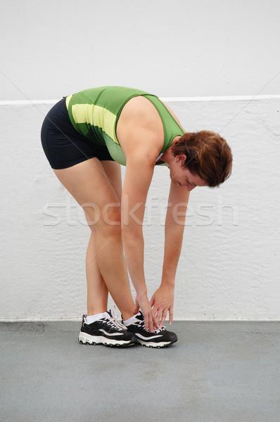 Urbaine coureur ville femme fitness Photo stock © cardmaverick2