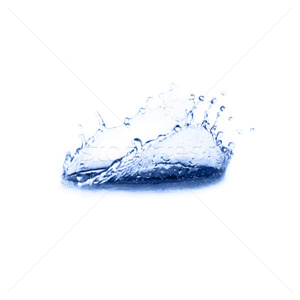 Blu acqua abstract estate drop bianco Foto d'archivio © cardmaverick2