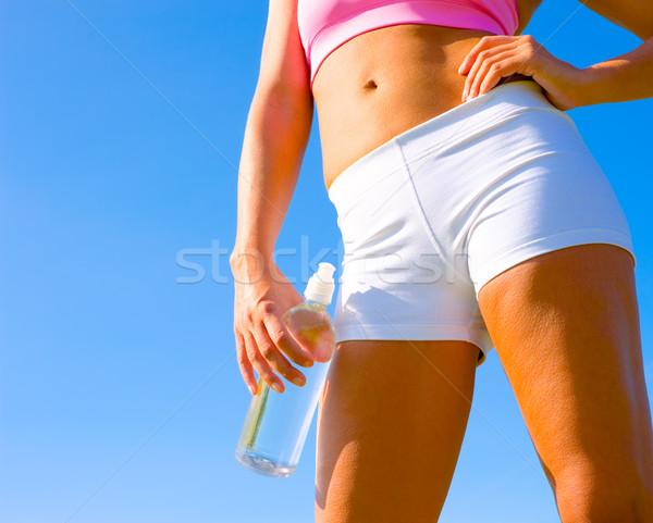 Stock photo: Athletic Woman Exercising