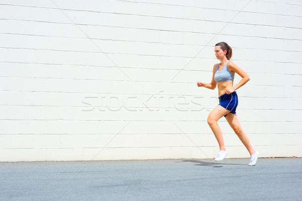 Urbanas mujer madura establecer Foto stock © cardmaverick2