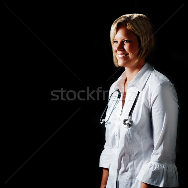 Mature Woman Doctor Stock photo © cardmaverick2