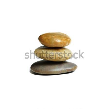 Rock pantalla piedras blanco belleza Foto stock © cardmaverick2