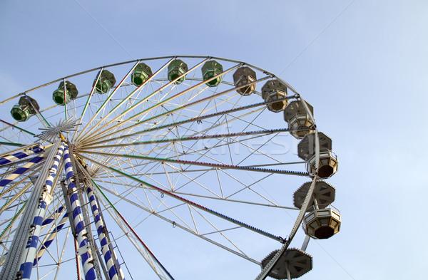ビッグ 魅力 公園 空 ホイール ストックフォト © carenas1