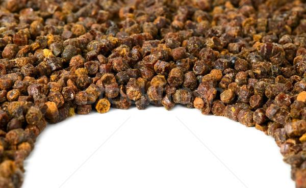 Foto d'archivio: Propoli · ape · prodotto · frame · bianco · medicina