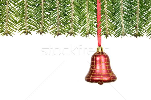 Tak christmas decoraties felicitatie kaart Stockfoto © carenas1