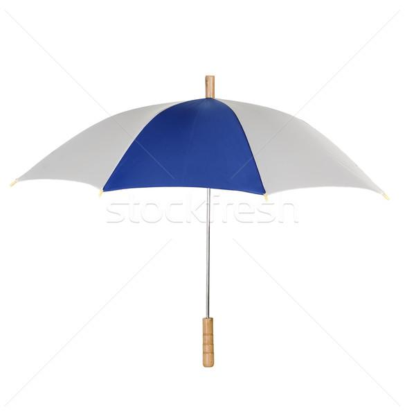 Umbrella on white background Stock photo © carenas1