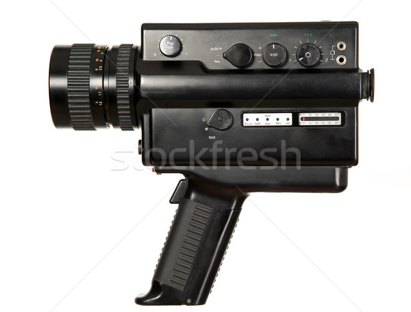 Old antique video camera Stock photo © carenas1