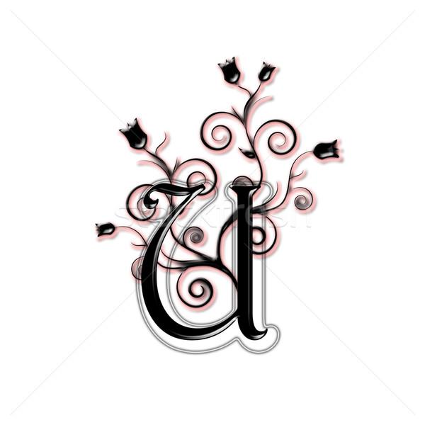Capital letter U Stock photo © carenas1