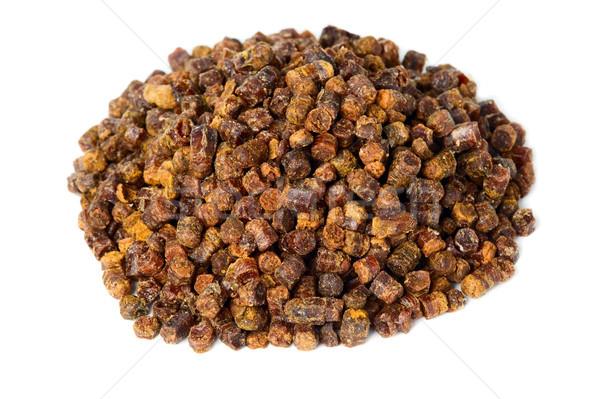 Propolis geïsoleerd witte bee product geneeskunde Stockfoto © carenas1
