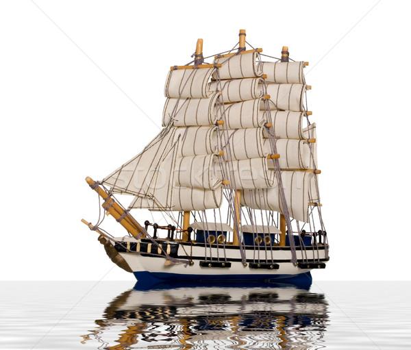 Antique ship Stock photo © carenas1