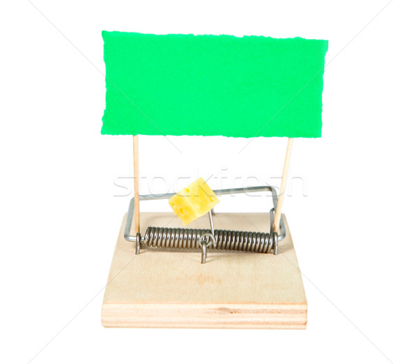 A mouse trap with keys Stock photo © carenas1