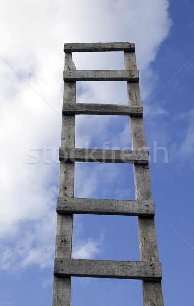 Ladder to beautiful heaven Stock photo © carenas1