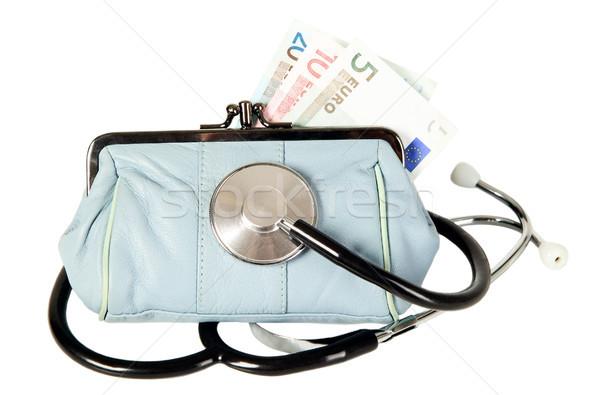 聴診器 財布 薬 黒 お金 健康 ストックフォト © carenas1