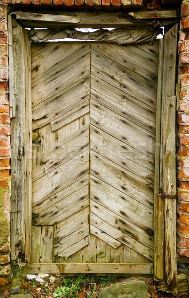 Old vintage doors Stock photo © carenas1