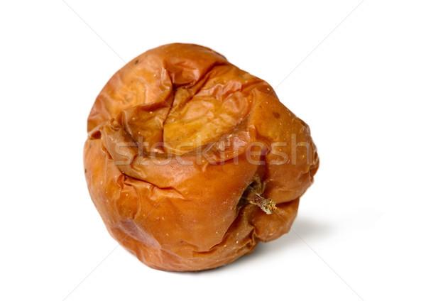 öreg rohadt alma fehér izolált egészségtelen Stock fotó © carenas1