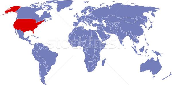 Foto d'archivio: Globale · mappa · mondo · abstract · sfondo · terra