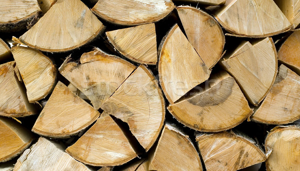 Brandhout bruin textuur hout achtergrond witte Stockfoto © carenas1