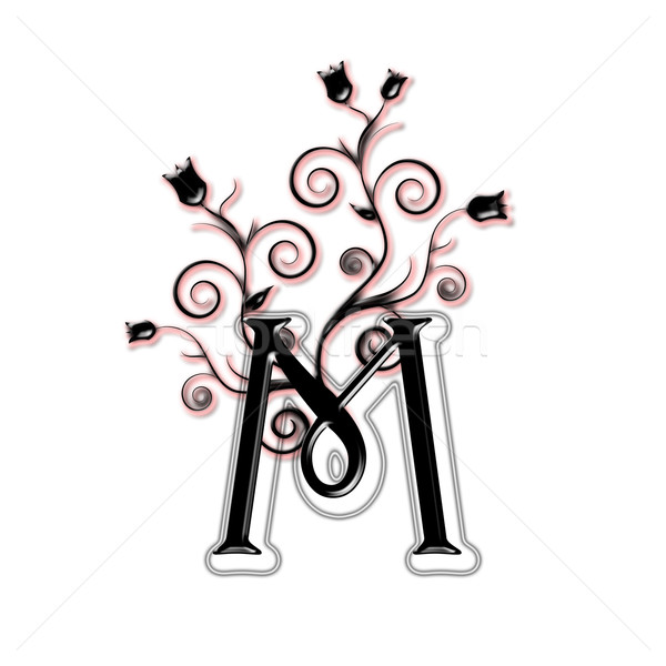 Capital letter M Stock photo © carenas1