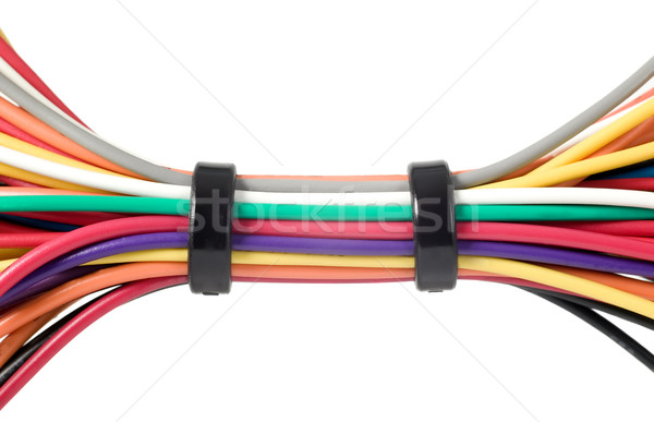 Various electric wires Stock photo © carenas1