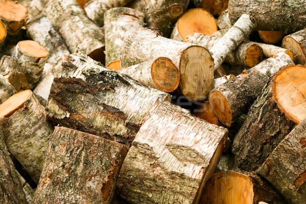 Stok fotoğraf: Ahşap · kesmek · yakacak · odun · doku · ağaç · ahşap